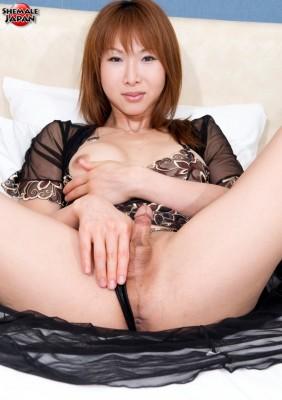 MikiMizuasa3.hiro.031 282x400 Sexy Shemale in Lingerie   Miki Mizuasa