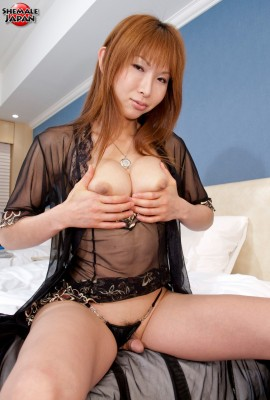 Japanese Shemale Miki with Big Breasts