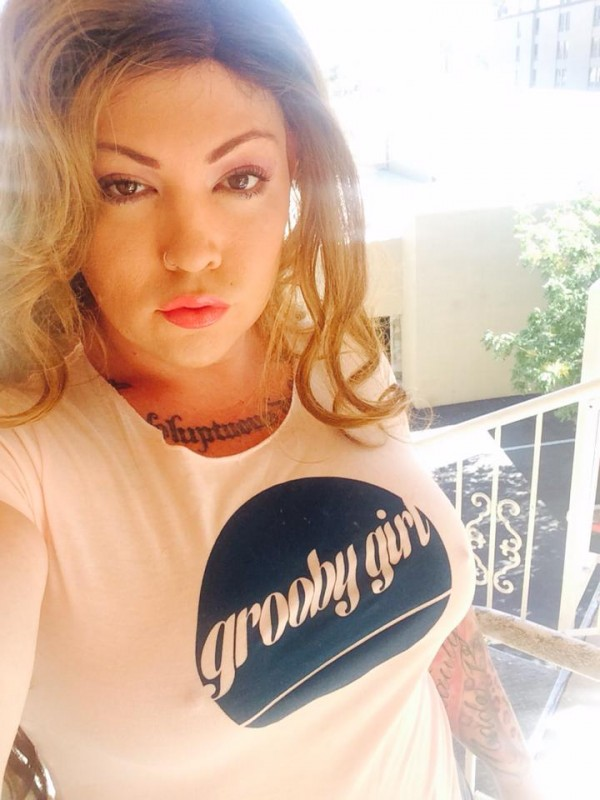 """michelleaustin 600x800 Grooby Launches New """"Grooby Girls"""" Website with Online T Shirt, Tattoo, and Sticker Competitions"""