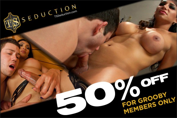 ts seduction nsfw 600x400 Grooby Exclusive: 50% off membership to Kinks TS Seduction FOR LIFE