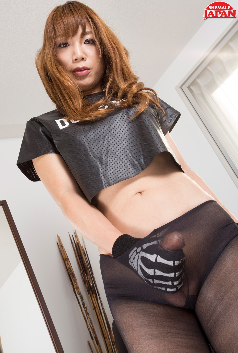 Miki shemale Shemale Japan welcomes back Tokyo hung angel Miki for another scene! Miki brings the heat in her second shoot rocking a pair of ridiculously sexy leather ...
