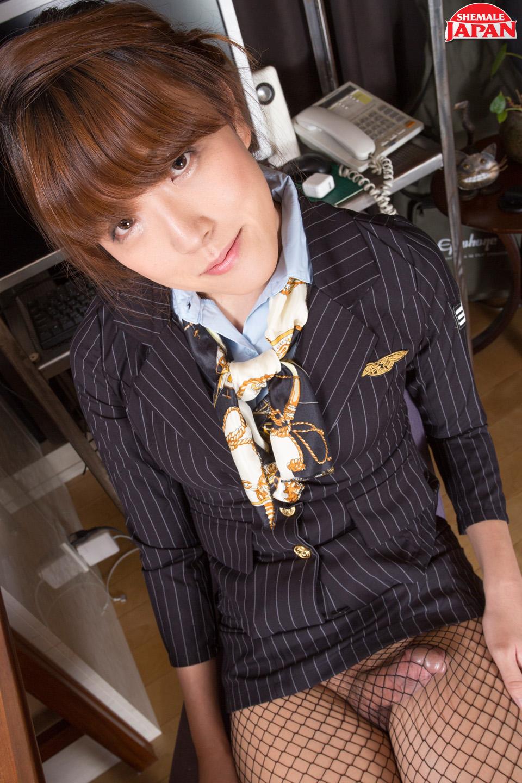 transsexual flight attendant